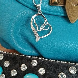 Jewelry - Mama & Colt Heart Necklace
